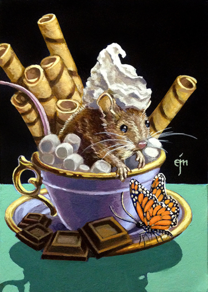 Erich Moffitt---Hot Chocolate Marshmallow Mouse