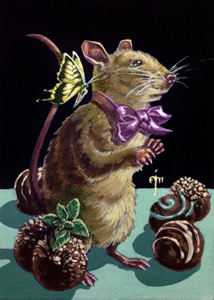 Erich Moffitt---Mint Chocolate Truffle Mouse