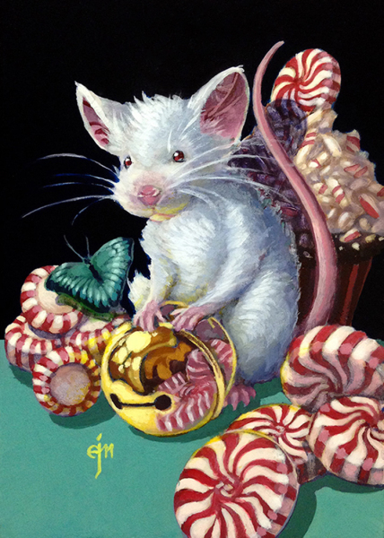 Erich Moffitt---Peppermint White Gold Mouse