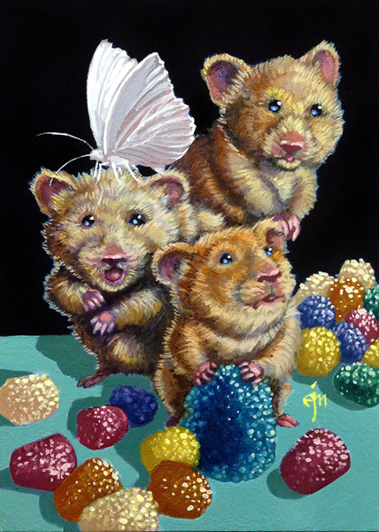 Erich Moffitt---Sugartopped Gumdrop Hamsters
